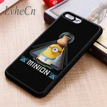 LvheCn Mooie minion Illuminati All Seeing Eye telefoon Case cover Voor iPhone 11 Pro X XR XS MAX 5 6 7 8 Plus samsung s7 s8 s9 s10(China)