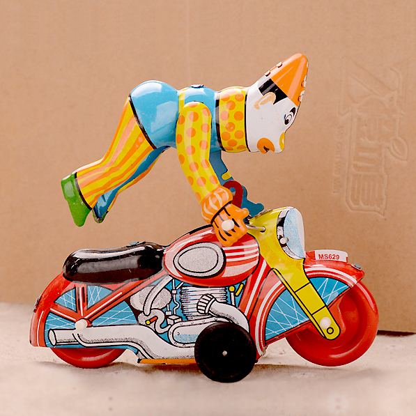 Payaso Del Circo clásico Clockwork Juguetes Adultos Tinwork Colección Juguetes Terminan Juguetes