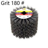 DuPont Wire Drawing Wheel Brush Drum Burnishing Polishing Wheel Grit 180