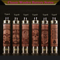 Newest E Fire X Fire Electronic Cigarette Vaporizer  Variable Voltage Efire X-fire Wood Tube ego Twist Battery