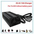 360W 24V 10A Charger 29.4V 10A li-ion battery charger Anderson Port Input 100-120V Or 220-240V For 7S 24V lithium battery pack