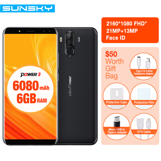 Ulefone power 3 mt6763 octa core 6gb 64gb 60 inch fhd smartphone ulefone power 3 mt6763 octa core 6gb 64gb 60 inch fhd smartphone four cameras 210mp fandeluxe Image collections