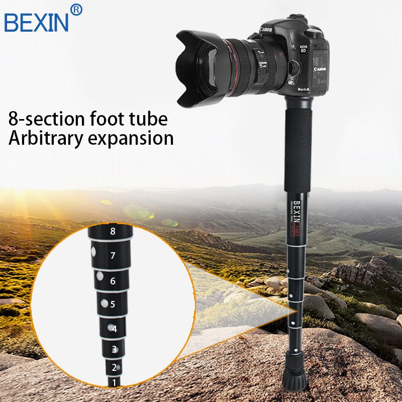 Image 3 - BEXIN Extendable lightweight portable mini camera monopod phone  stand handheld unipod dslr camera video monopod for Sony CanonTripods