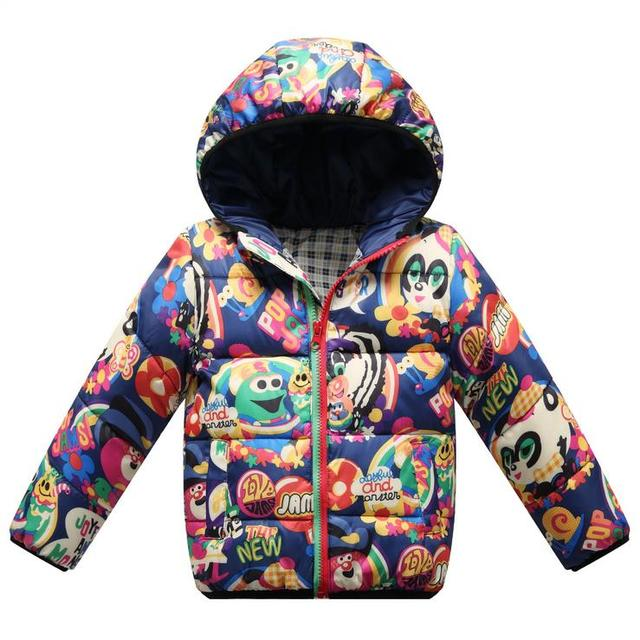 2015 baby boys girls winter down coats children's winter clothing children outerwear kids thicken hoody down parkas jackets k25