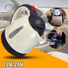 Car Hot Kettle Portable 1000ML Water Heater Travel Auto 12V/