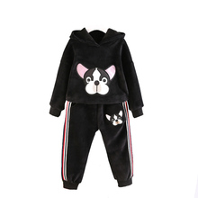 Baby Girls Clothes Suits Sport Costumes For Boys Pullover Coat Elastic Trousers Kids Outfits Winter Children's Clothing Sets