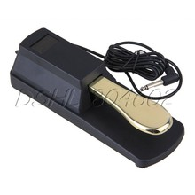 Metal Sustain Pedal Damper Foot Swith for Electronic Piano Keyboard