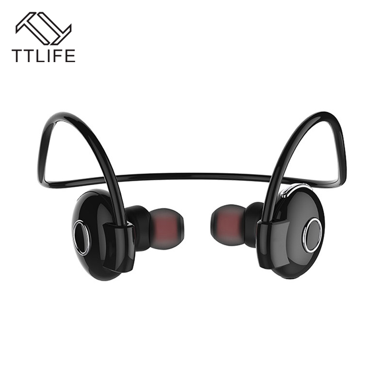 TTLIFE Original 4.1 Wireless Bluetooth Stereo Headphone Music Sport Headset With Mic Voice control Handsfree Earphone For iPhone ttlife new mini stereo car kit bluetooth headset wireless earphone handsfree auriculares with mic with charging dock for iphone
