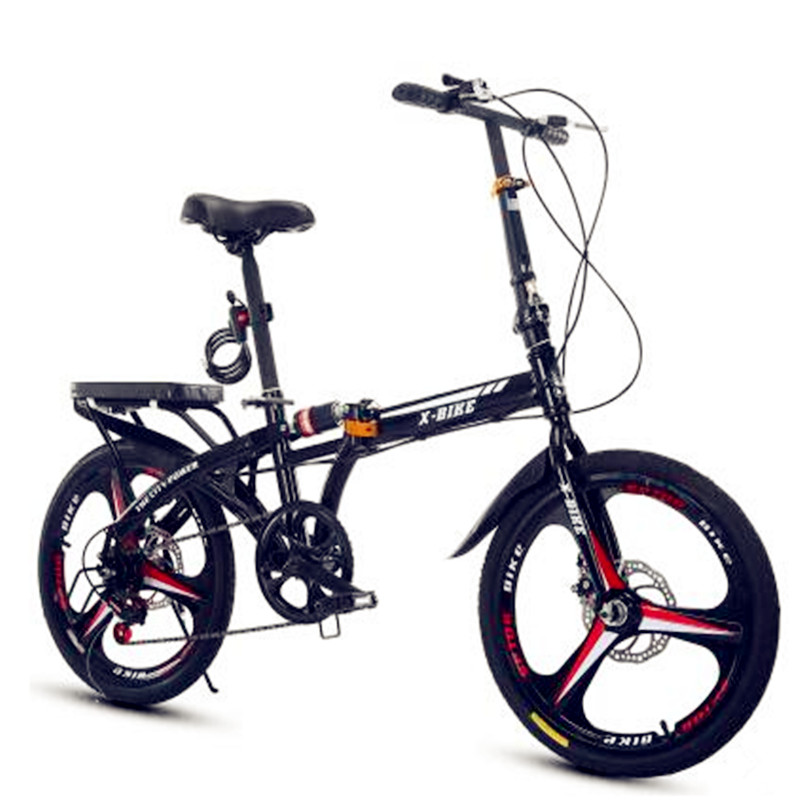2019 newest!!! 16 inch High carbon steel folding frame bike Ultra-light, mini, variable speed, shock absorption bicycle2019 newest!!! 16 inch High carbon steel folding frame bike Ultra-light, mini, variable speed, shock absorption bicycle