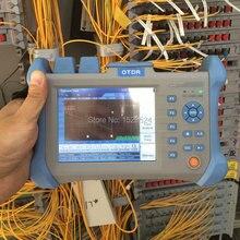 Одномодовый 1310/120 Нм дБ Встроенный VFL оптический рефлектометр временной домен волоконно оптический OTDR км