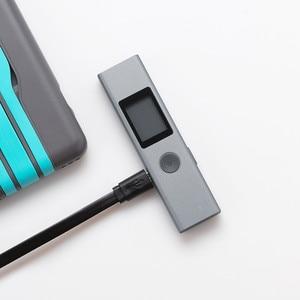 Image 2 - Duka 40m LS P לייזר מד טווח USB גבוהה דיוק מדידה פלאש טעינה נייד כף יד מד טווח