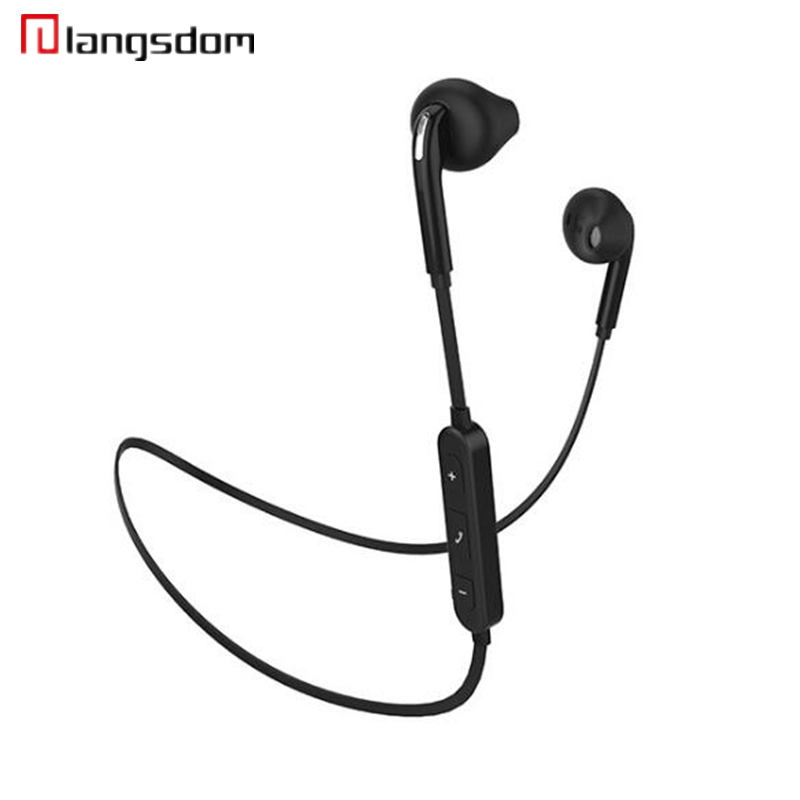 Langsdom BS6 Bluetooth Earphone Wireless Sports In-ear Earphone for iphone xiaomi Music Stereo Earbuds with Mic auriculares