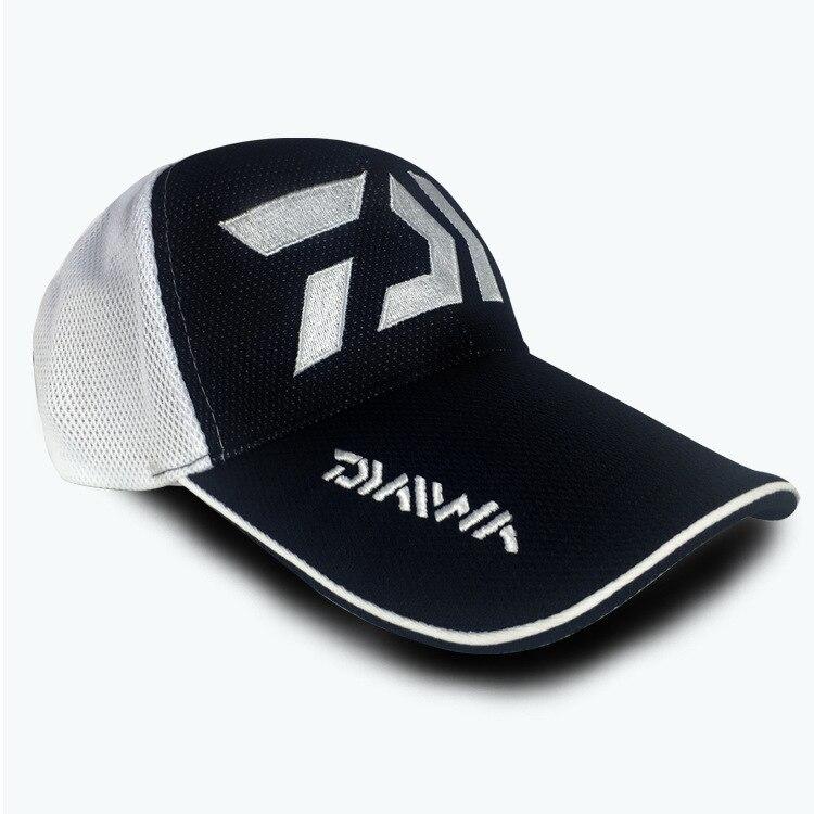 442e4798ca630 2018 Adult Men Adjustable Breathable Fishing Daiwa Dawa Japan Sunshade  Sport Baseball Fishermen Hat Cap Black Special Bucket Hat-in Fishing Caps  from Sports ...