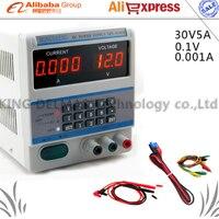 High Efficiency Digital Adjustable Control 30V 5A DC Voltage Regulated Power Supply DPS 305BM For Laptop