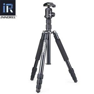 Image 2 - RT40 Professionelle Fotografische Reise Stativ Einbeinstativ Compact Aluminium Legierung Kamera Stehen für DSLR Hohe Qualität 164cm Max