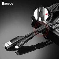 Baseus выдвижной Весна Тип usb C кабель для samsung S10 S9 S8 Xiaomi Mi 9 8 USB-C быстрый автомобиль зарядки Зарядное устройство USBC Тип C