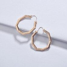 Joolim Jewelry Big Gold & Silver Hoop Earring Geometric Wholesale