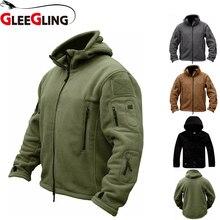 GLEEGLING новые зимние куртки для рыбалки камуфляж тактический рубашки плюс Размеры S-4XL Для мужчин Sportwears Пеший Туризм треккинг Рыбалка рубашки