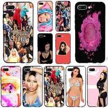 Shockproof Nicki Minaj Girl Phone Case for Huawei Honor 8 Lite Cover 10 9 6A 7A Pro 7X 7C Y6 Prime Nova 3 3i Covers Skin