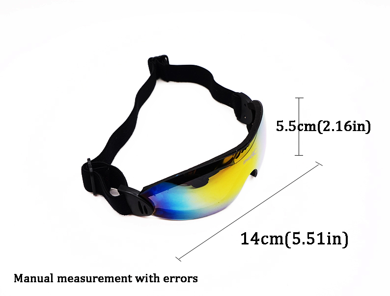 Quality Skiing Goggles HD colorful Ski Glasses frameless skiing glasses snowboard men women snow snowboard goggles 5