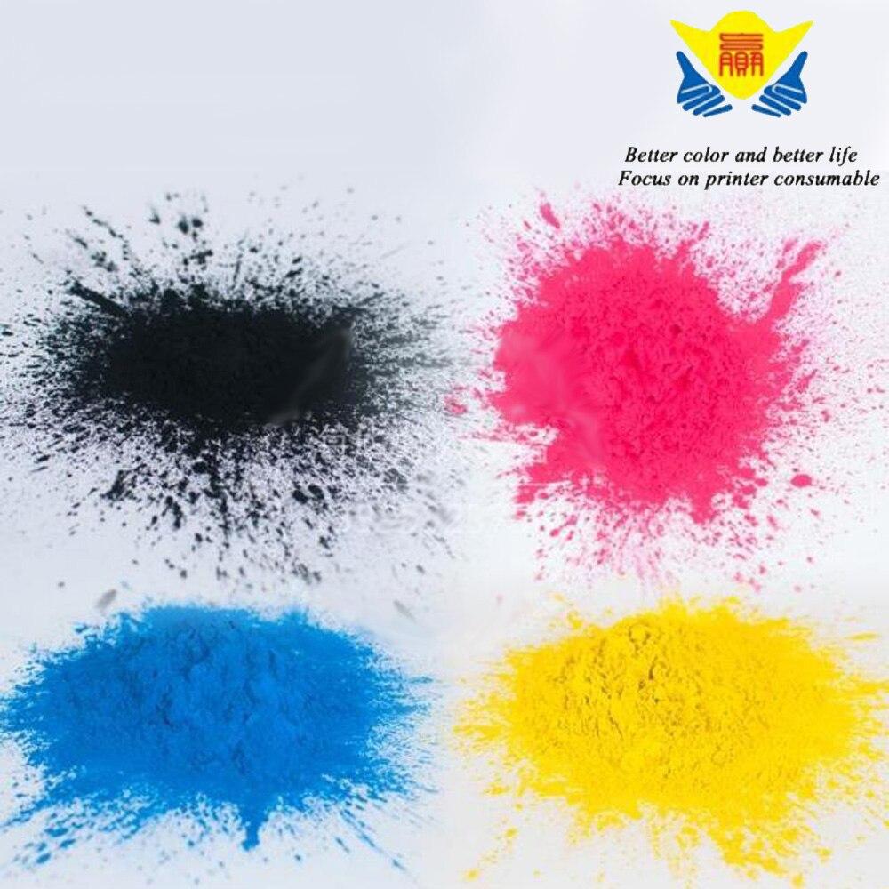 JIANYINGCHEN Compatible For Lexmark C950 X950 CS310 4bags Lot 400g per bag Color Refill Toner Powder