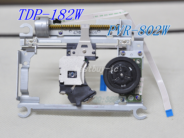 Free shipping TDP-182W optical pickup PVR-802W  big motor  laser lens player laser head