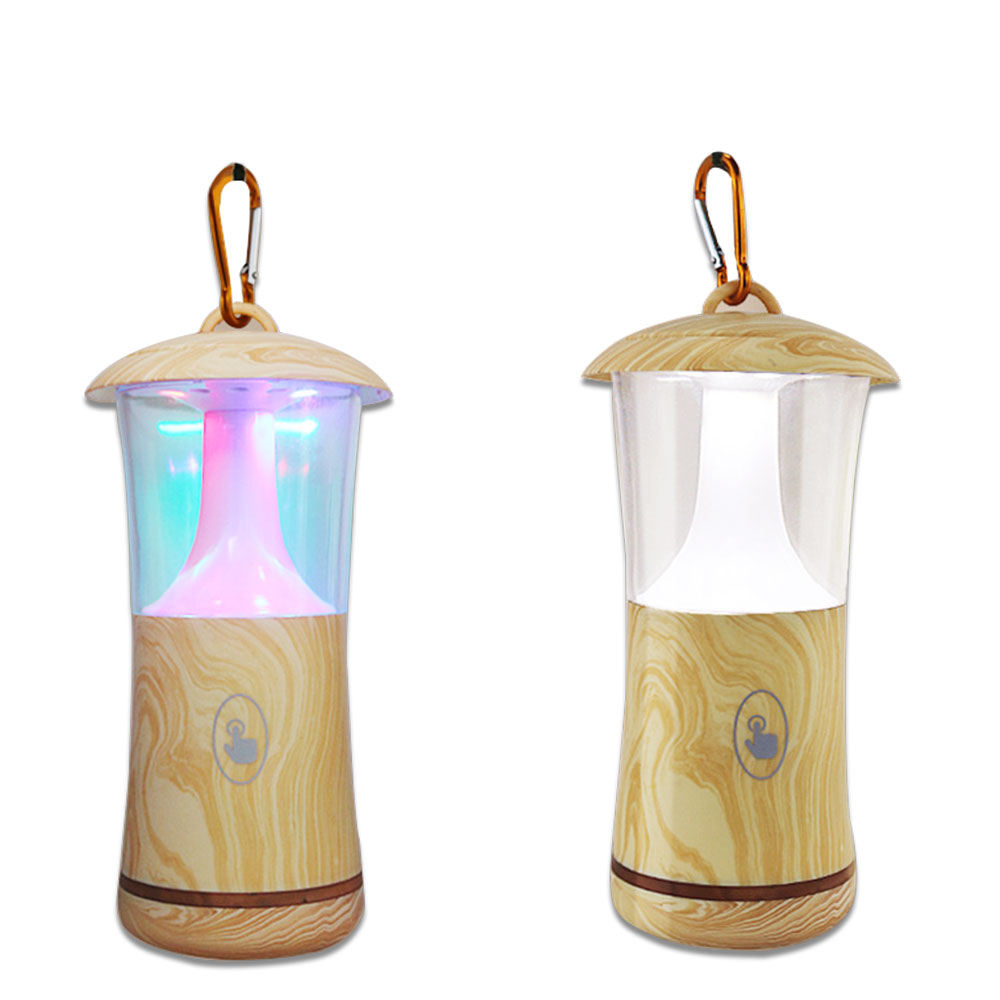 Wooden Desk Lamp Hanging Lights LED Nightlight US Charging Bedroom Decorations