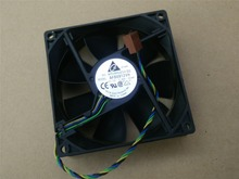 Free Shipping Original Delta AFB0912VH = AUB0912VH 9cm 90mm 90*90*25MM 9225 DC 12V 0.60A 4-pin pwm computer cpu cooling fans