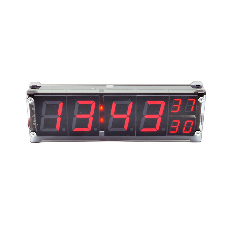 Simple Vehicle Clock Thermometers 1.2inch Red Led Digital Tube LED Luminous Character Mi ...