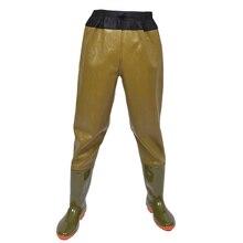 Подводные наполовину/полностью водонепроницаемые брюки для рыбалки для мужчин и женщин, уличные охотничьи камуфляжные дышащие болотные брюки, непромокаемые сапоги