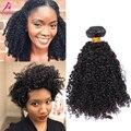 Brasileiro cabelo virgem 7A 3B 3C crespo encaracolado brasileira pacote tecer cabelo 1 Pcs brasileiro profunda cabelo encaracolado produtos de cabelo Cara