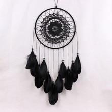 купить With Feathers Wall Hanging White Decoration Crafts Dreamcatcher Wind Chimes Handmade Dream Catcher  D1 дешево