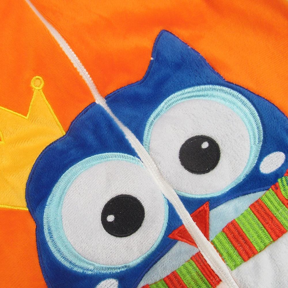 Infant sleeveless flannels vest warm sleeping bag straddle Children gift free shipping 3