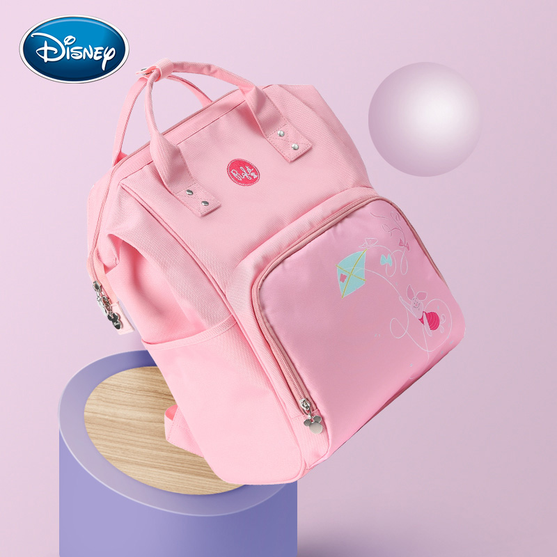 Disney Pink  Nappy Backpack Baby Bag Fashion Nappy Bags Large Organizer Maternity Bags Mother Handbag BabyDisney Pink  Nappy Backpack Baby Bag Fashion Nappy Bags Large Organizer Maternity Bags Mother Handbag Baby