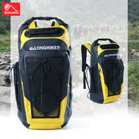 30L Waterproof Backpack Swimming Floating Dry Bag Boating Rafting Sailing Fast-drying Sack Outdoor Sports Buoy Ocean Pack