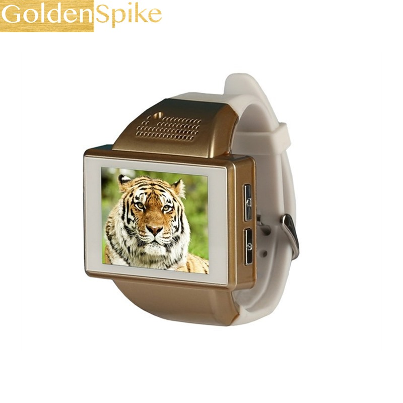 GoldenSpike AN1 Android 4.1 Smart Watch Cell Phone Dual Core 2.0 Inch Touch Screen Watch SIM Mobile Phone 2.0 MP WiFi FM GPS