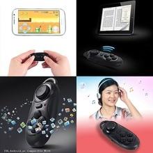 Bluetooth VR BOX Remote Control Wireless 3D VR Glasses Google Cardboard Selfie Camera Shutter Music Player Wireless Mouse