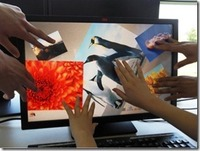 Multi touch Infrared IR Touch Frame 22 inch 2 points IR Touch Screen kit for project
