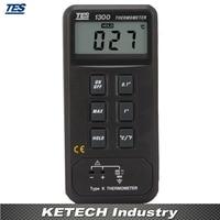 Einzel Eingang Digitale Thermometer Temperatur Sensor-50 bis + 1300 Celsius TES-1300