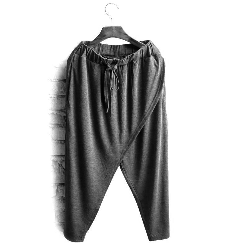 Pants Elastic Promotion Big-Yards Summer New of Thin Low-Waist Loose 7-Minutes Fund Vogue