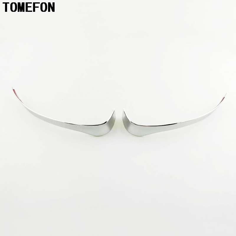 TOMEFON For <font><b>Mazda</b></font> CX-3 <font><b>CX3</b></font> 2015 <font><b>2016</b></font> 2017 ABS Car Rearview Mirror Trim Covers Stickers Sequins Exterior Decoration Accessories image