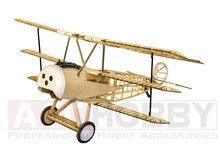 Balsawood model de avion model de tăiere cu laser de energie electrică Fokker DRI 1540mm aripi de construcție Kit Woodiness model / WOOD PLANE