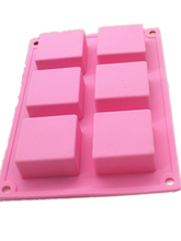 silicone cake mold square brick handmade soap molds DIY Craft Bath Soap Salt Making Silicone mould clear soap mold transparent toast mould layer multiple handmade soap mold layered handmade soap kit swirl square soap making set