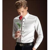 The Latest Style Men Shirt Custom Made Men Wedding Shirt White Good Quality Men Formal Shirt