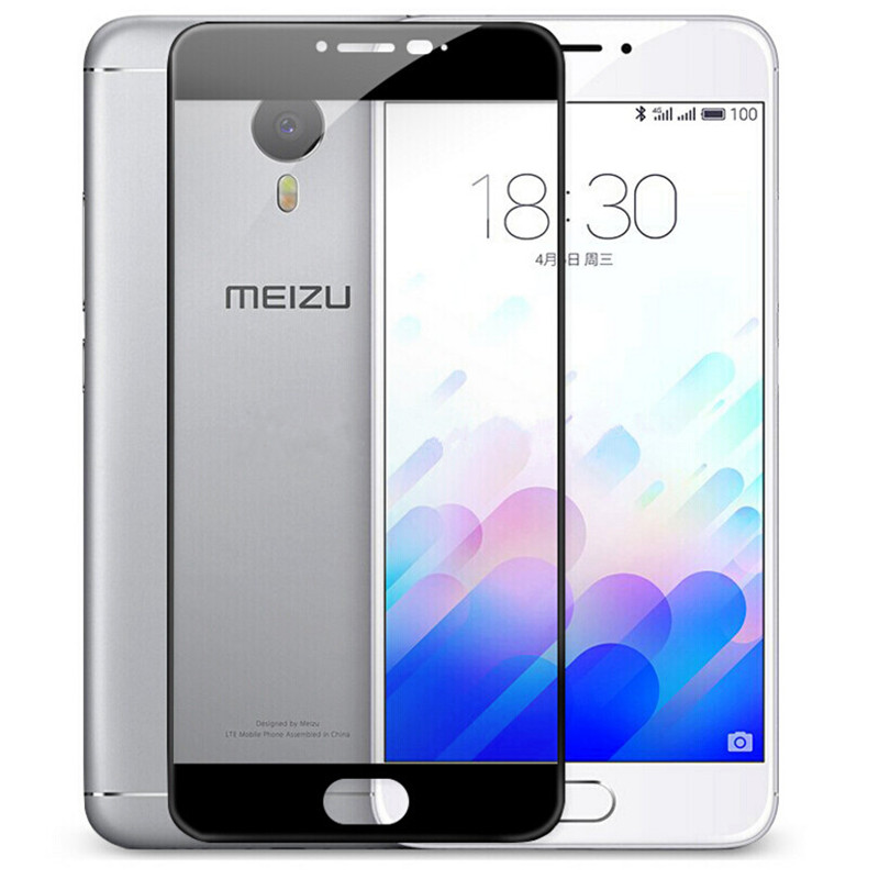 Full Cover Tempered Glass For Meizu M3 / M3 Note M3S S Meilan 3 Meilan3 M3note Note3 Screen Protector Protective Film Guard