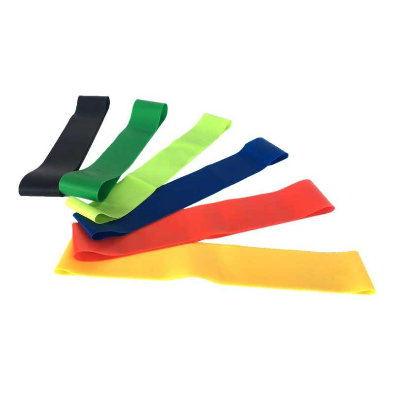 Unisex joga odporność na opaski gumowe kryty sprzęt do ćwiczeń na świeżym powietrzu 0.3mm-1.2mm trening sportowy trening Opaski elastyczne