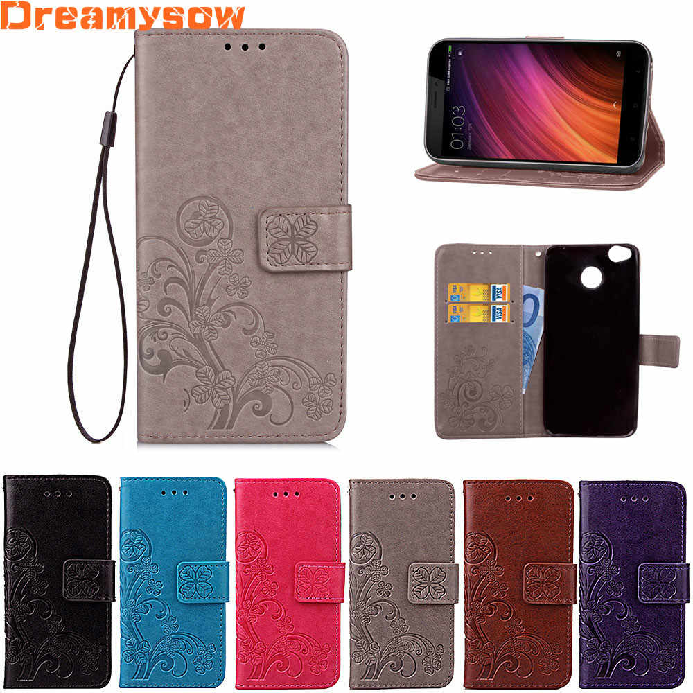 Flip Wallet PU Leather Case For Xiaomi Redmi 4X 4A 6 Note 5 Pro 5A 4 3 Back Cover High Quality Book Stand Card Slot Phone Case