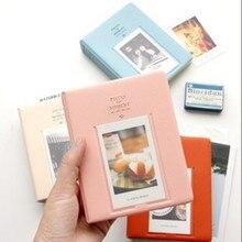 64 кармана фотоальбом мини мгновенная Картина чехол для хранения Fujifilm Instax Mini Фильм 8 Корея альбом для фотоаппарата Instax Fotografia