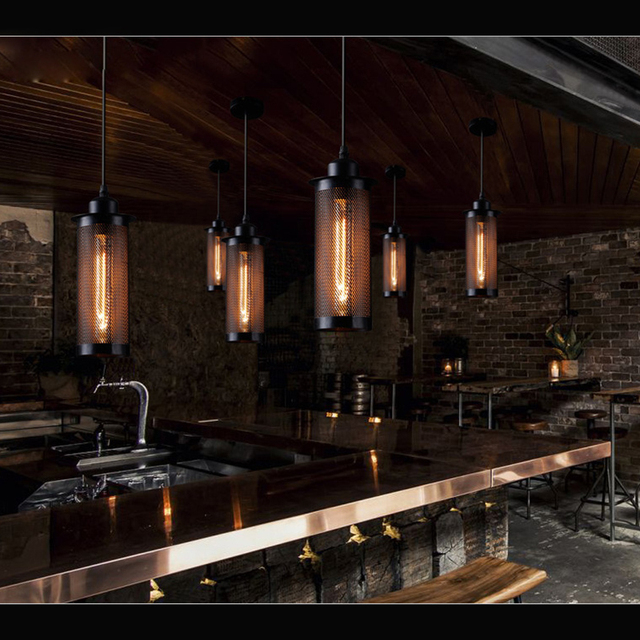 Aliexpresscom  Buy Edison Iron pendant Lamp Sconces Down Light