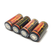 5pcs/lot Large Capacity High Quality TrustFire Battery 32650 3.7V 6000mAh Rechargeable Li-ion Batteries with PCB Protected Board